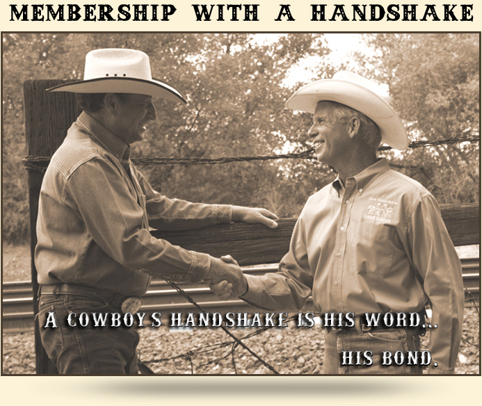 Membership With a Handshake